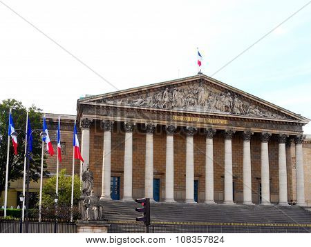 Assemblee Nationale (palais Bourbon)