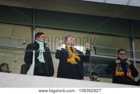 President Of Slovenia Borut Pahor And President Of Ukraine Petro Poroshenko