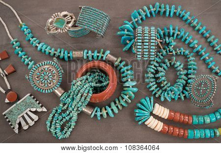Turquoise Jewelry Extravaganza.
