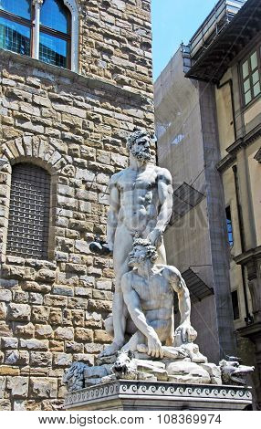Hercules and Cacus,Florence,Italy