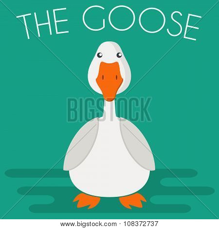 Goose Mascot Illustration