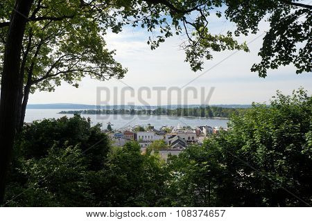View of Harbor Springs and Little Traverse Bay