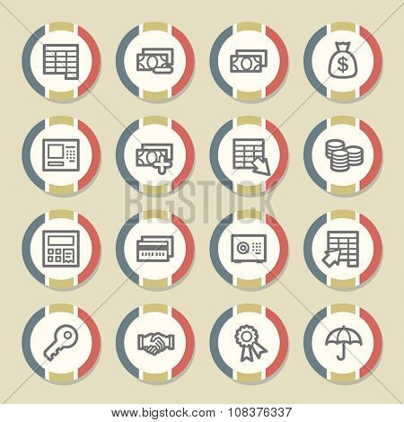 Finance and Banking icons