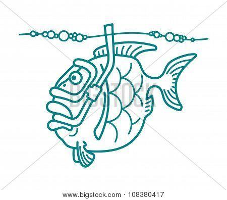 Snorkel Diving Fish