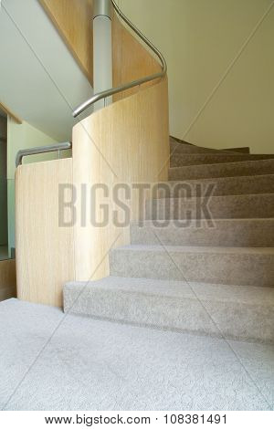 Handrail And Interior Stairs