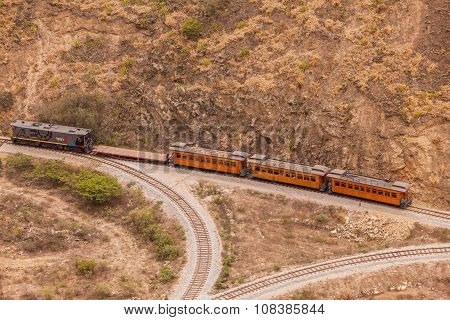 Train Ride In South America