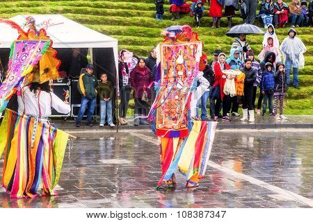 Inti Raymi, Explosion Of Colors