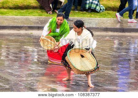 Indigenous Women Celebrating The New Year