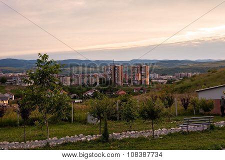 Sunset In The Hunedoara City