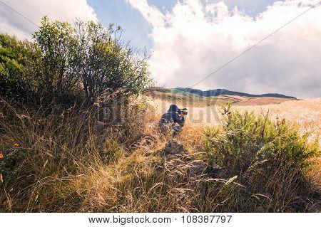 Young Man Photographer