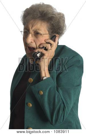 Senior Woman On Phone
