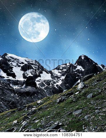 Marmolada peak in Val di Fassa
