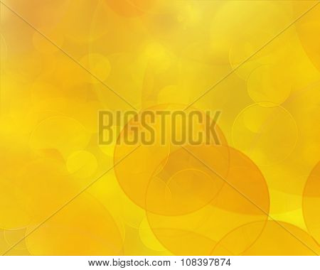 Background Color Gradient From  Orange To Bright Yellow