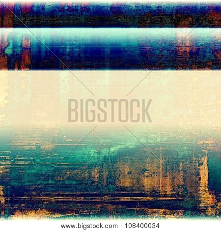 Abstract old background or faded grunge texture. With different color patterns: yellow (beige); brown; blue; green; pink