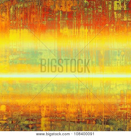 Abstract background or texture. With different color patterns: yellow (beige); brown; red (orange); green