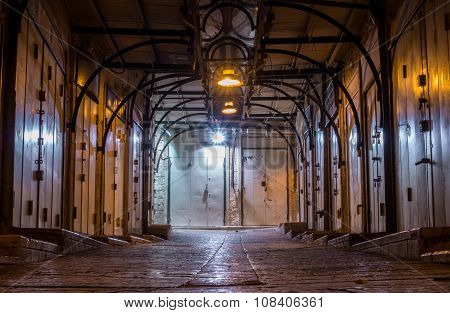 Arabic Market Closed At Night