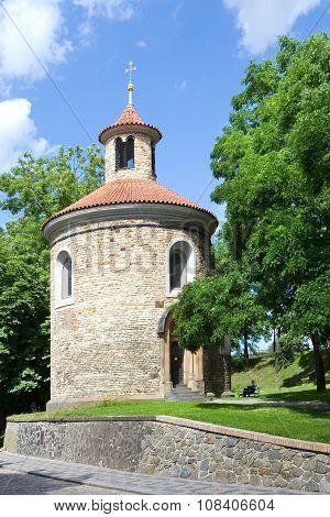 Rotunda Of St. Martin, Vysehrad (unesco), Prague, Czech Rep