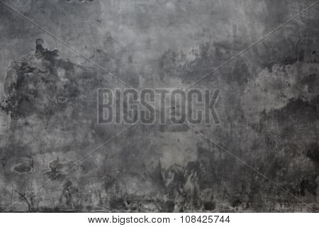grey real plaster background