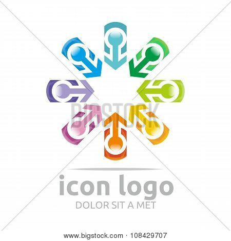 Icon Logo Arrow Star