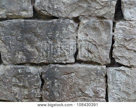 Texture wall made of bricks
