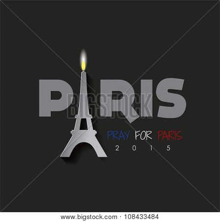 Pray For PARIS. FRANCE