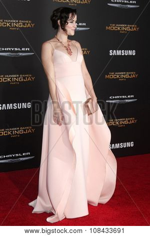 LOS ANGELES - NOV 16:  Jena Malone at the