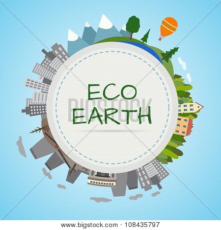 Ecology planet.