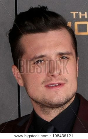LOS ANGELES - NOV 16:  Josh Hutcherson at the