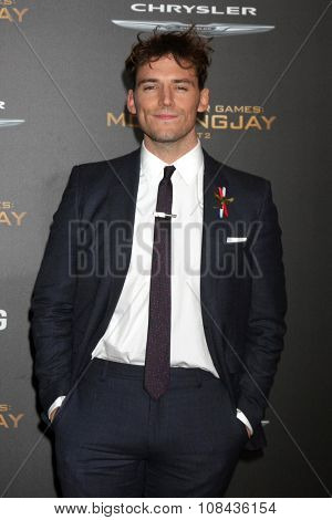 LOS ANGELES - NOV 16:  Sam Claflin at the