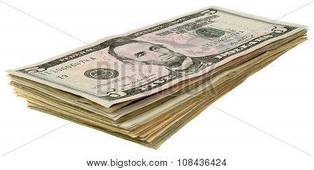 Stack Of Dollars Banknotes_5