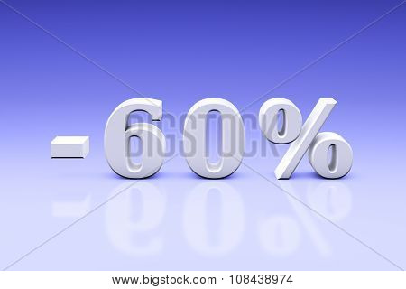 -60% Significant Discounts For The Goods And Services. Dumping