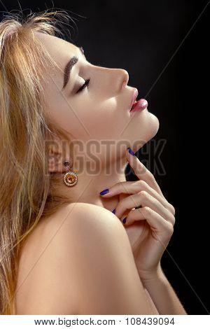 Sensual Aroused Woman
