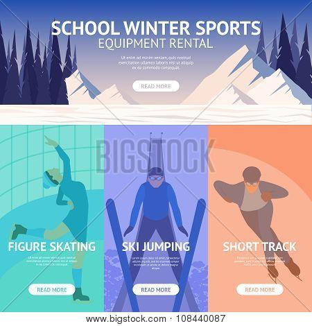 Winter Sport Banner