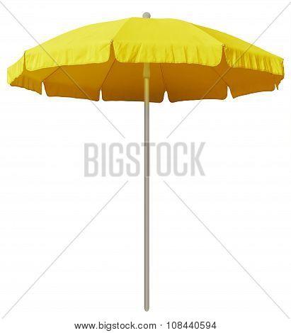 Beach Umbrella - Yellow