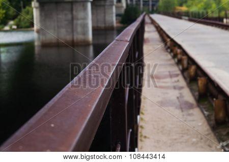Bridge Railing River