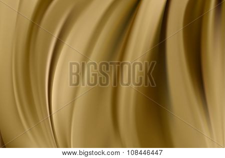 Bright Brown Background With Soft Folds