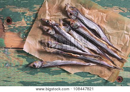Dried Salted Capelin