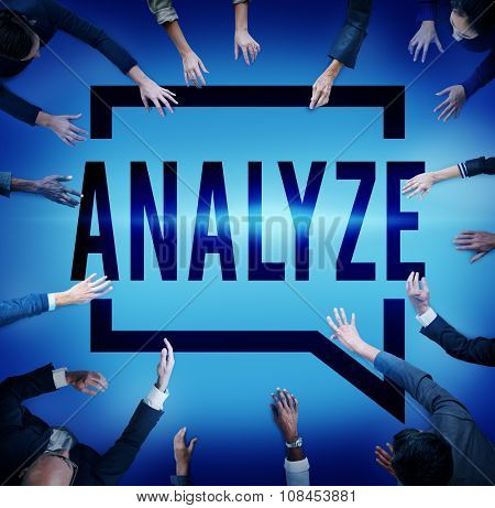 Analyze Evaluation Consideration Planning Strategy Concept