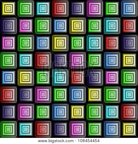 Checkered Background. Vector