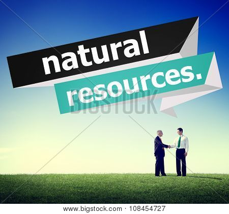 Natural Resources Environmental Earth Energy Concept