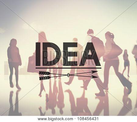Idea Inspiration Creativity Imagination Vision Concept