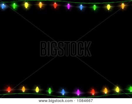 Christmas Lights Border 1