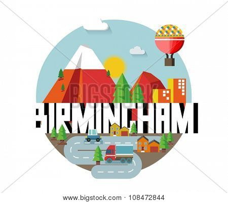 Birmingham city is a beautiful destination to visit for tourism.