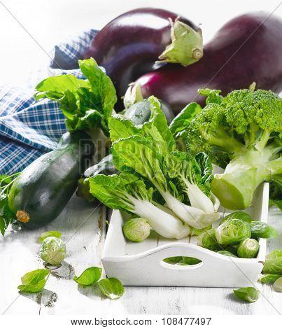 Organic Healthy Green Vegetables