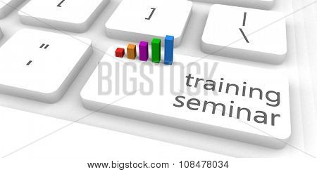 Training Seminar as a Fast and Easy Website Concept