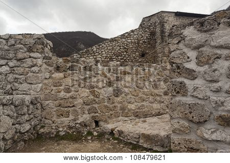 Medieval Fortified Building In Travnik 08