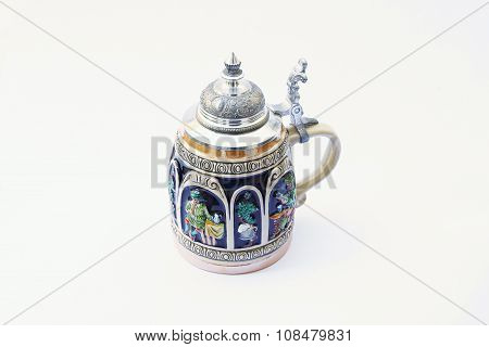 Traditional German Beer Mug.