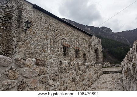 Medieval Fortified Building In Travnik 09