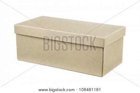 Storage box isolated on white