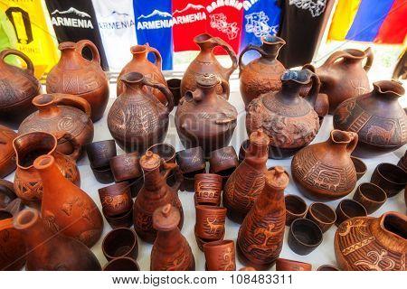Merchandise In A Flea Market